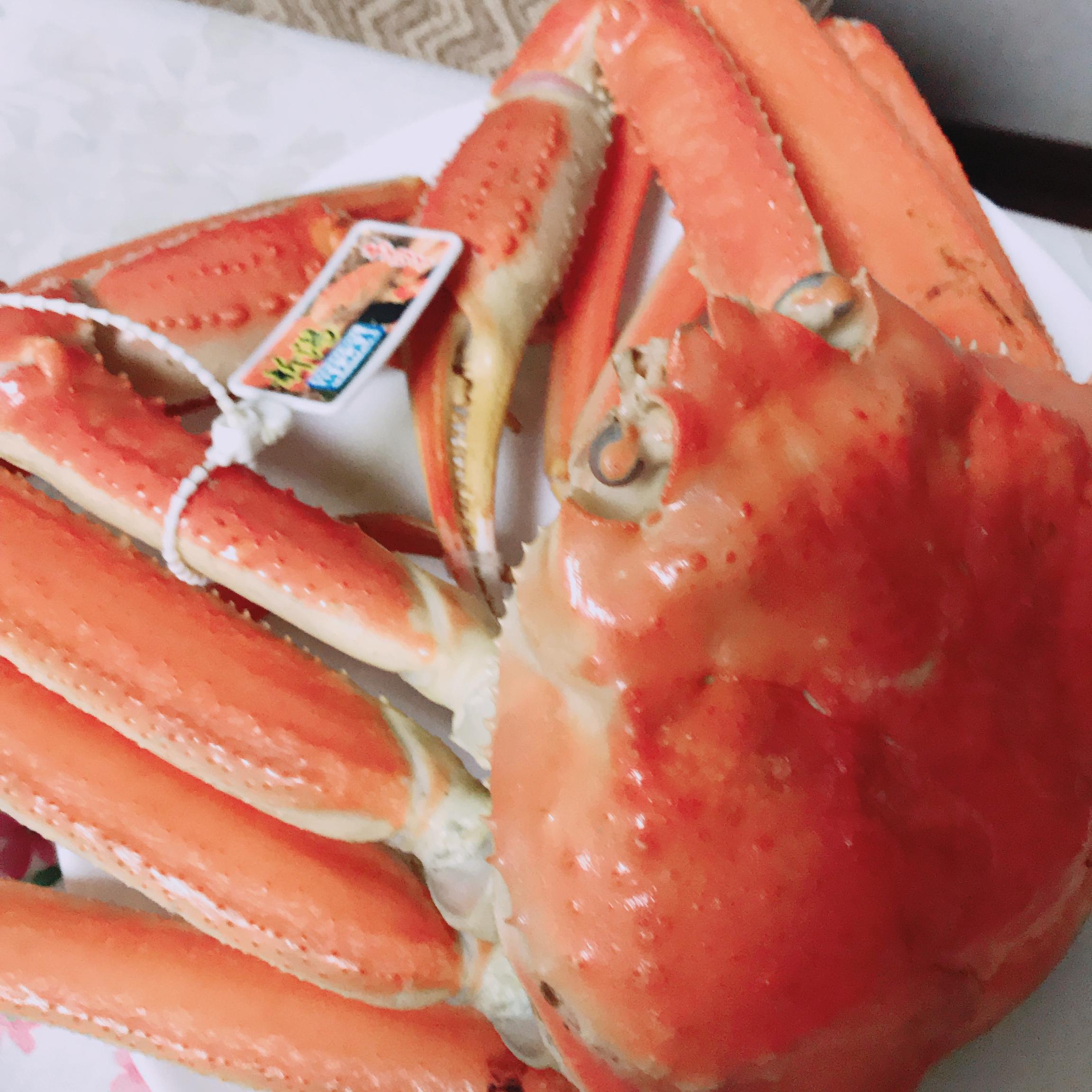 とびきり大きな越前蟹と牡丹海老を堪能‼️