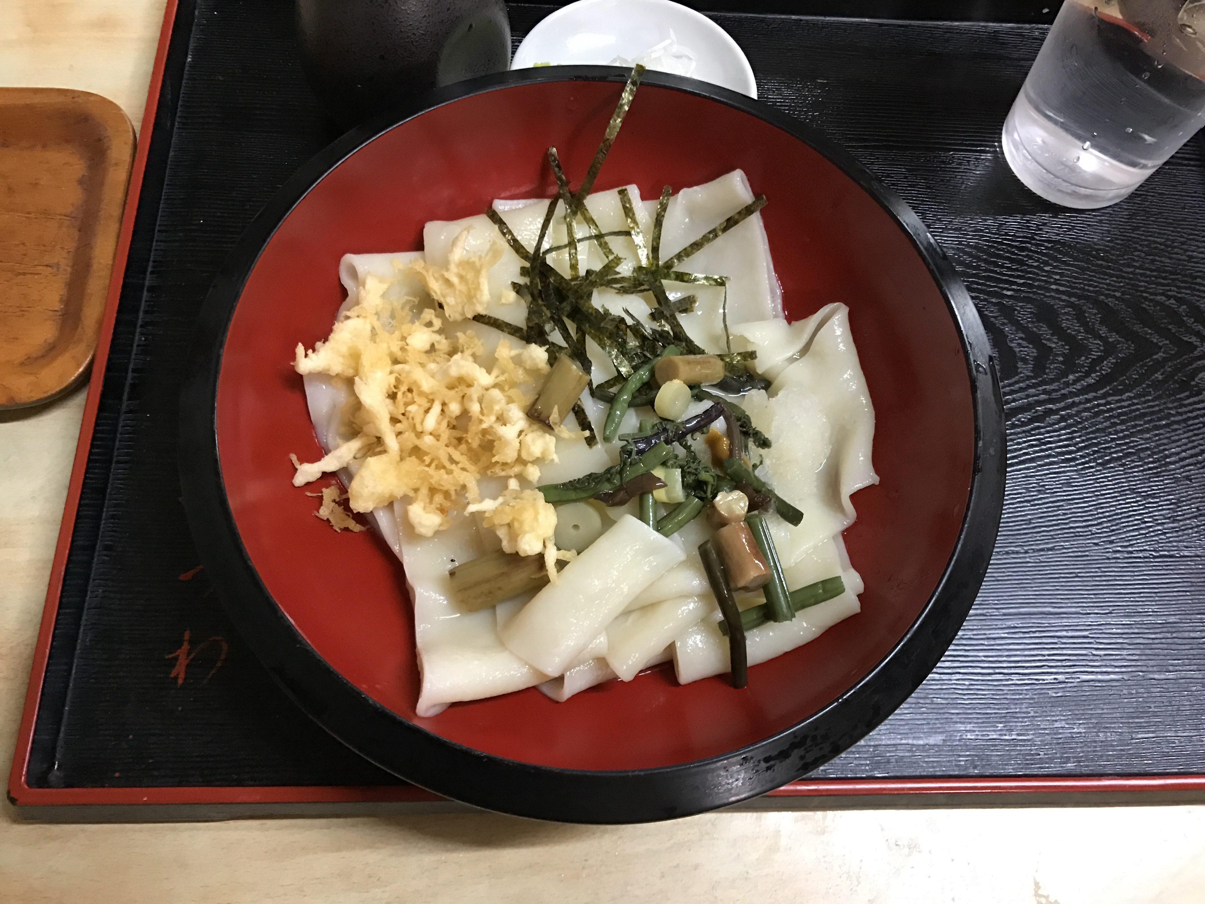 2日続けて通った栃木の美味い手打ち麺