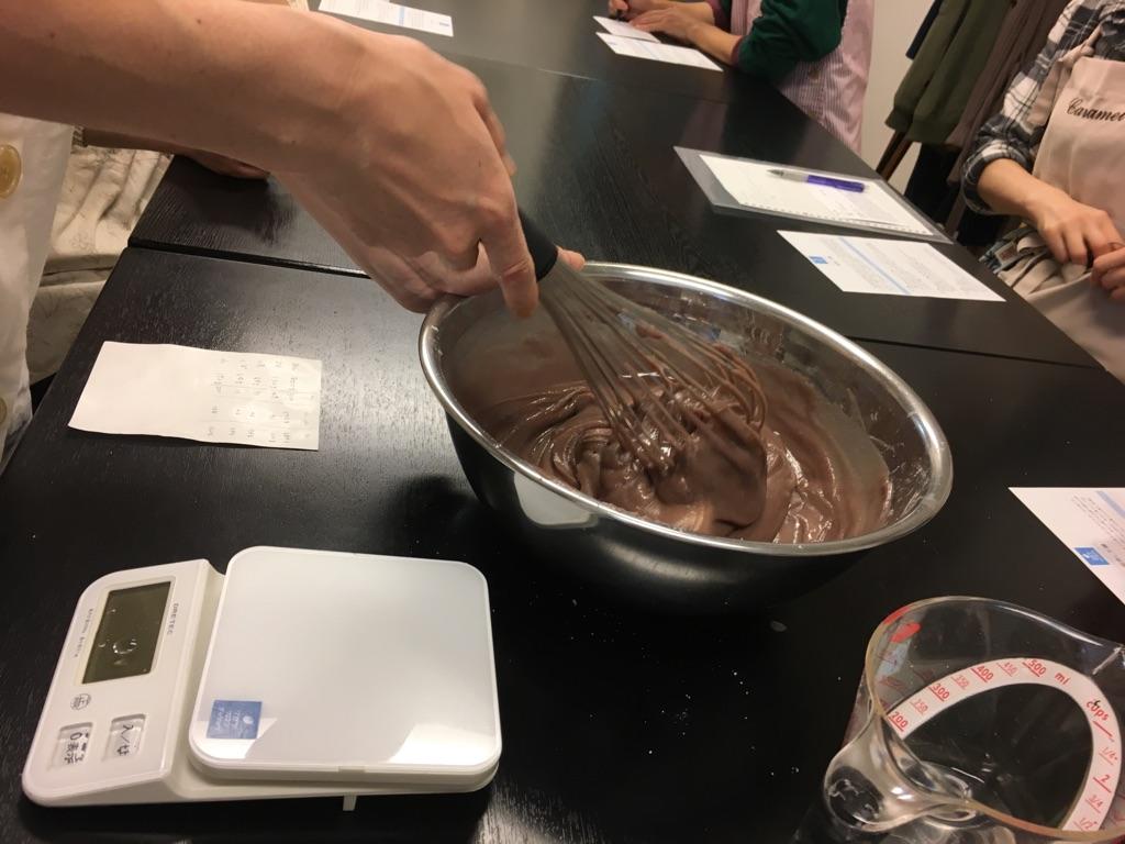 先月の和菓子教室★栗蒸羊羹をつくりました。
