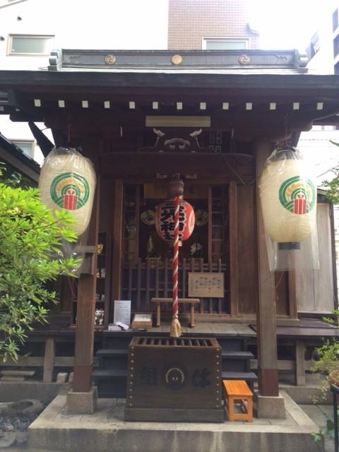 猫探しの神社・人形町「三光稲荷」