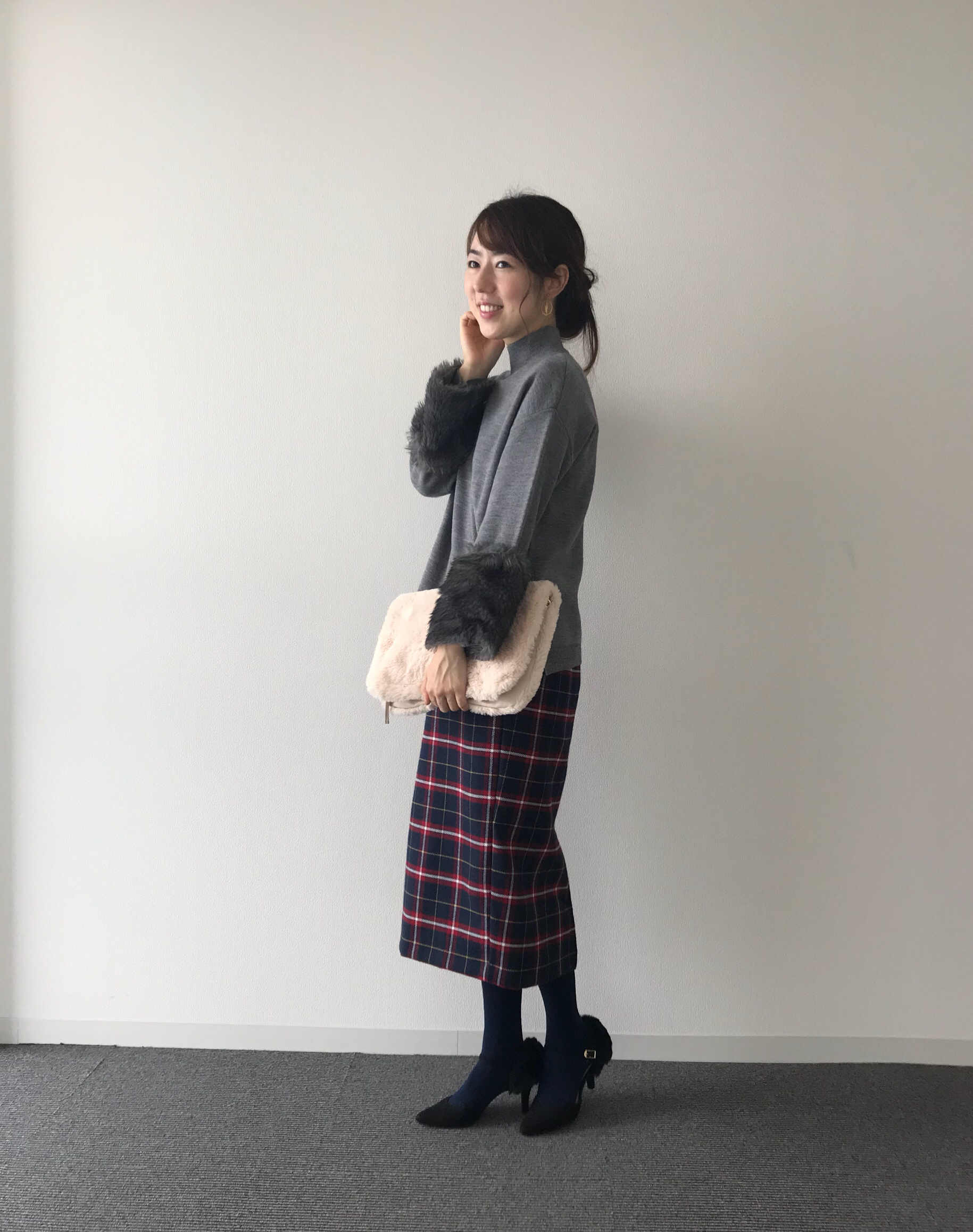 """買ってよかった【ユニクロ・GUアイテム】~冬の定番""""グレーコーデ"""""""