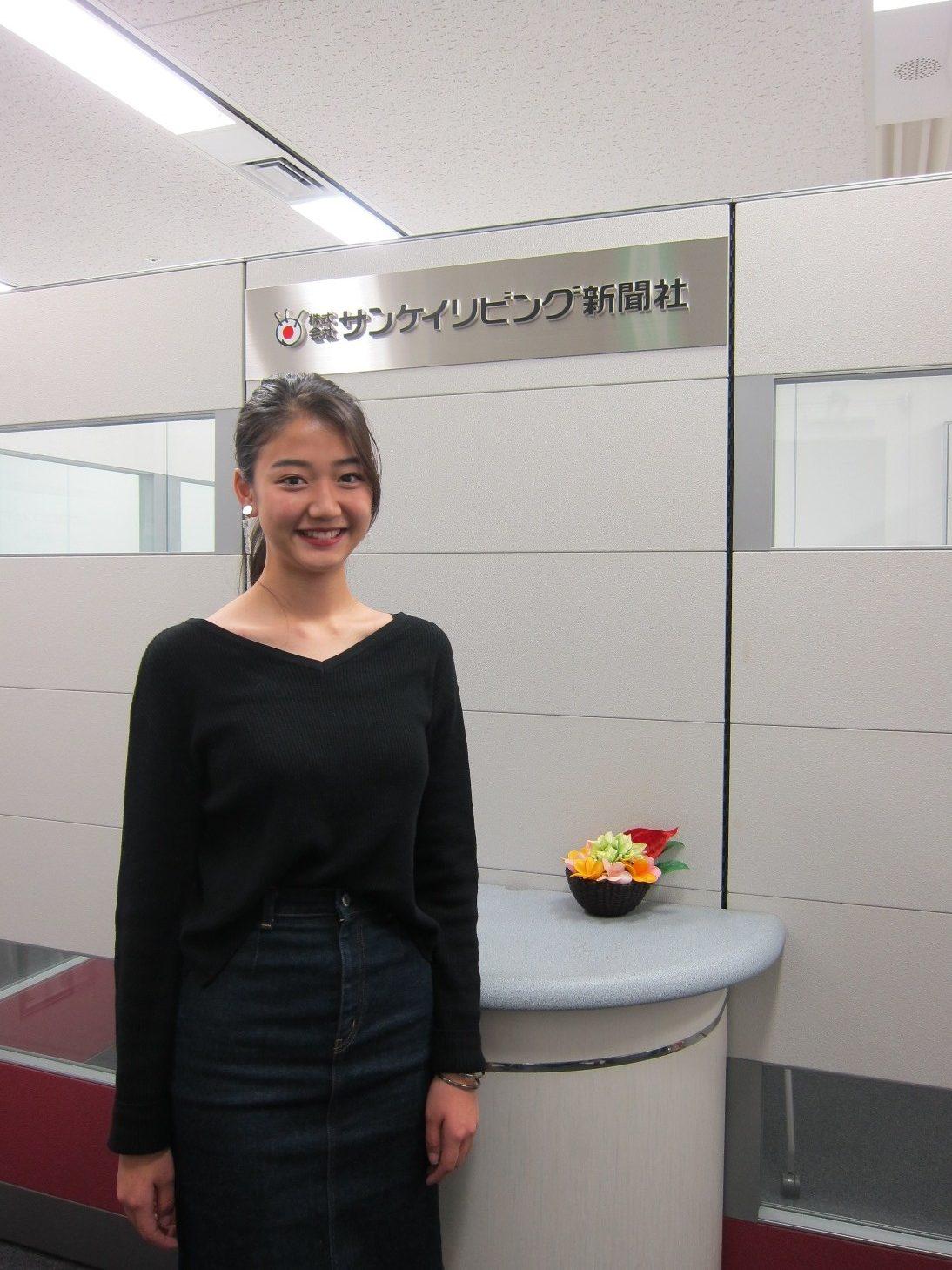 「2018年東レキャンペーンガール」夢乃さんに来社いただきました