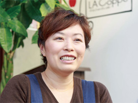 LA Coppe(ラ コッペ) オーナー 池田ふじ子さん(38歳)
