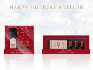 LABIOTTE×CREE`MARE HAPPY HOLIDAY EDITION「クリスマススペシャルキット1」を3人に