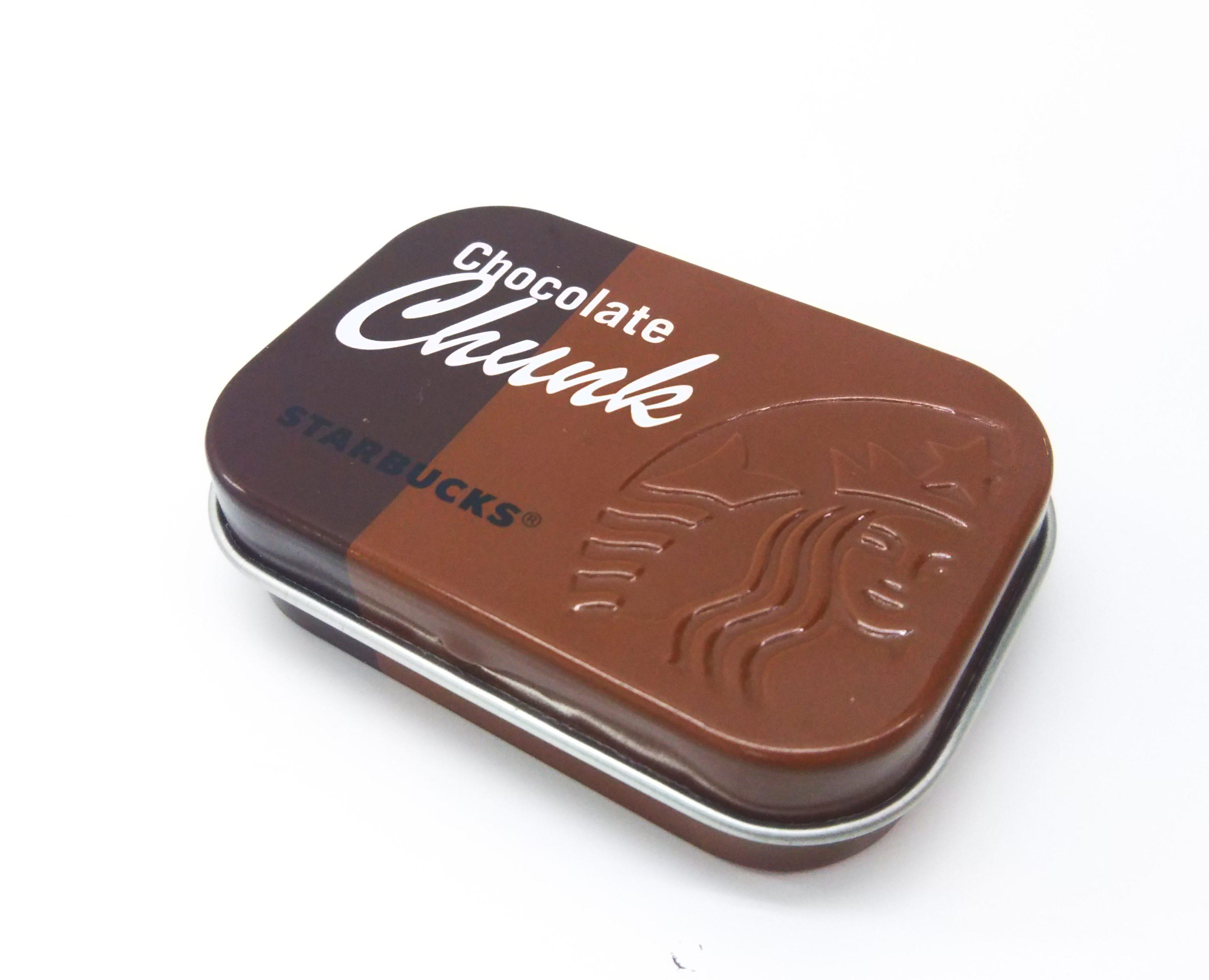 【スタバ】チョコレートチャンク缶をパケ買い★