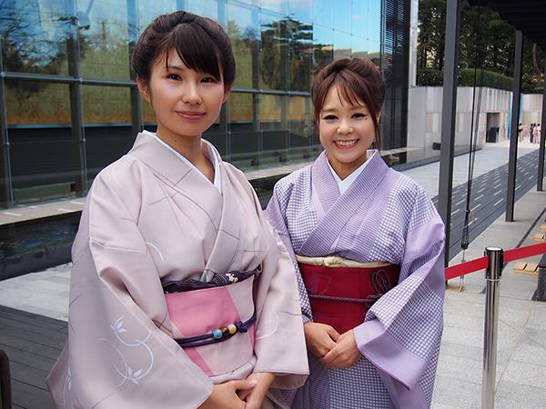 着物で箱根☆「LIVING 和ごころおもてなしプロジェクト」に参加