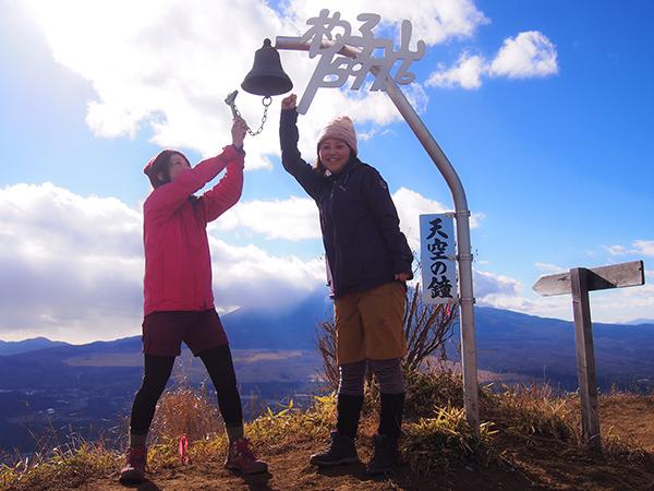 【登山】富士山が近い!天空の鐘を鳴らしに『杓子山』♪