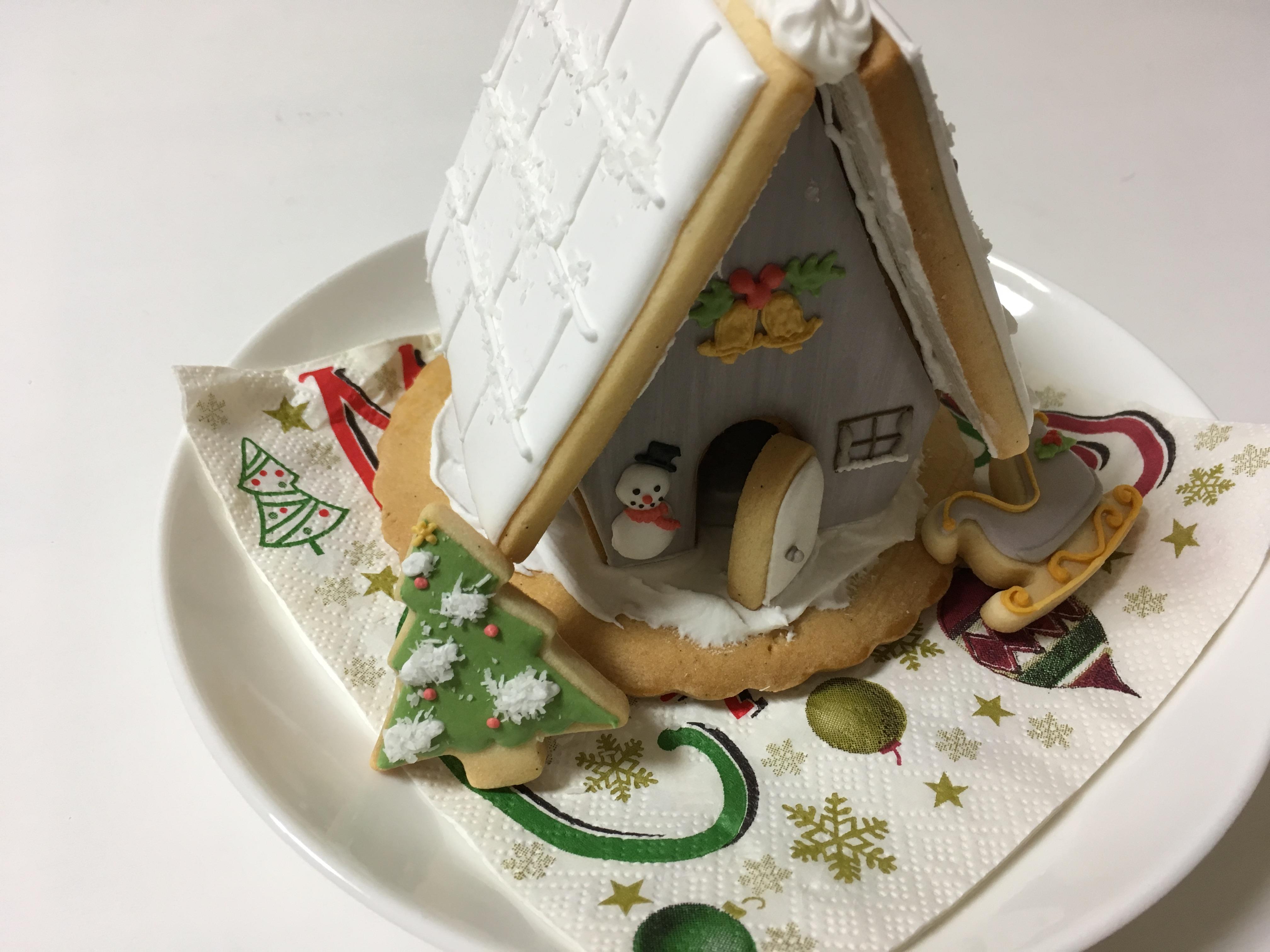 アイシングクッキーでたのしむクリスマス♪大人の習い事♪
