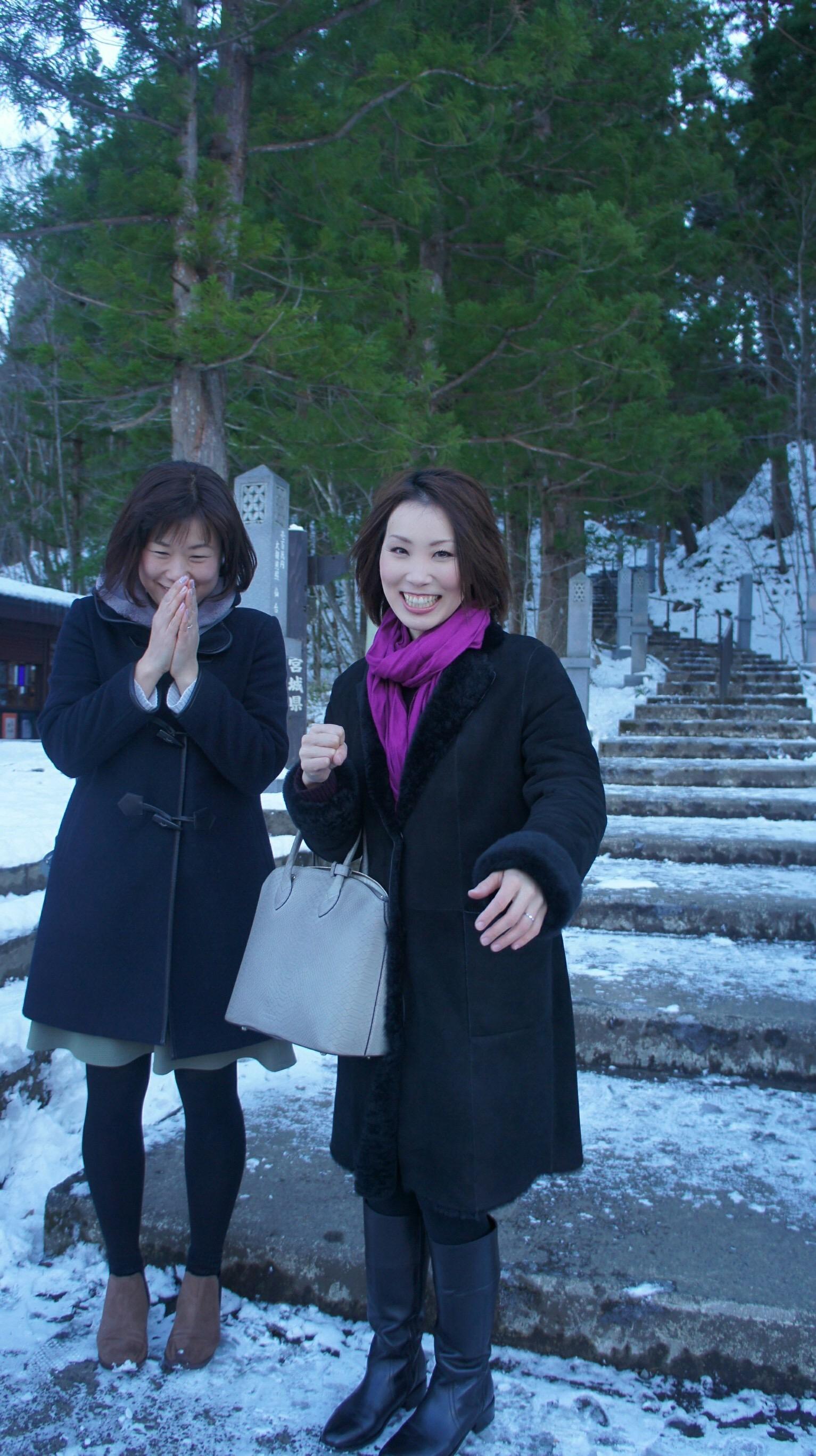 美衣さん、ようこそ仙台へ!初めてのシティメイト交流!!