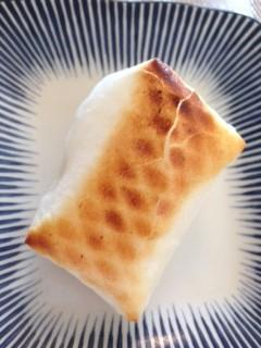 朝はお餅、夜は葛湯で温まる