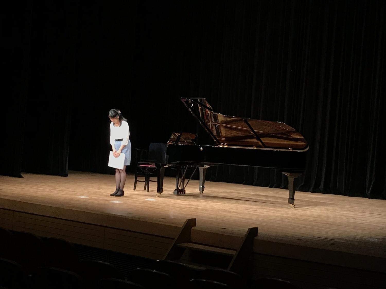 ピアノ発表会♪-趣味-