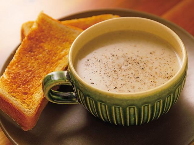 お店で季節感を楽しむ、ごちそうスープ
