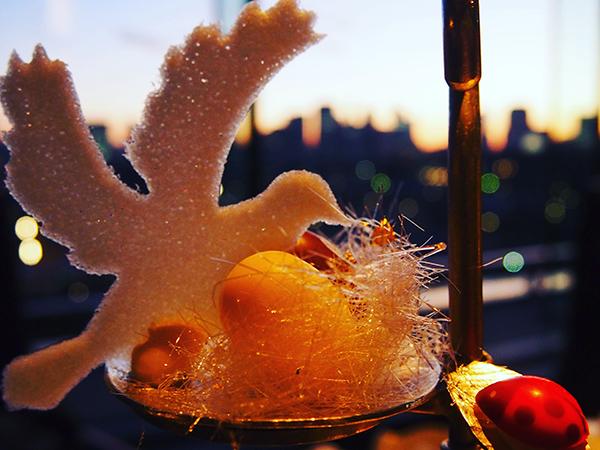 小鳥の止まり木?!パレスホテルのアフターヌーンティーが芸術的可愛さ❤