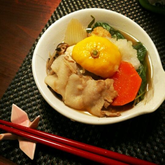 【レシピ】胃腸をリセット!さっぱり柚子おろし鍋
