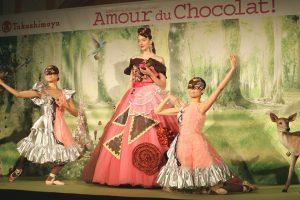 ジェイアール名古屋タカシマヤに世界のチョコレートが大集合!