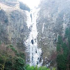 【403】阿蘇の氷瀑「古閑の滝」へ2/8(木)
