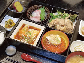 ワタシのスキ!「粋な和食屋のランチは ボリュームも栄養も満点」
