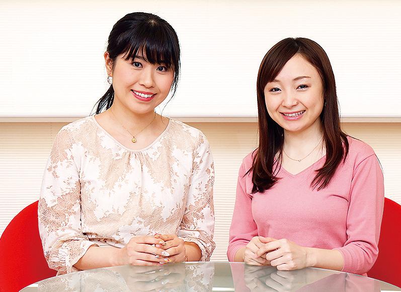 瀬戸なつみさん(32歳・メーカー)と菊池実咲さん(29歳・不動産)