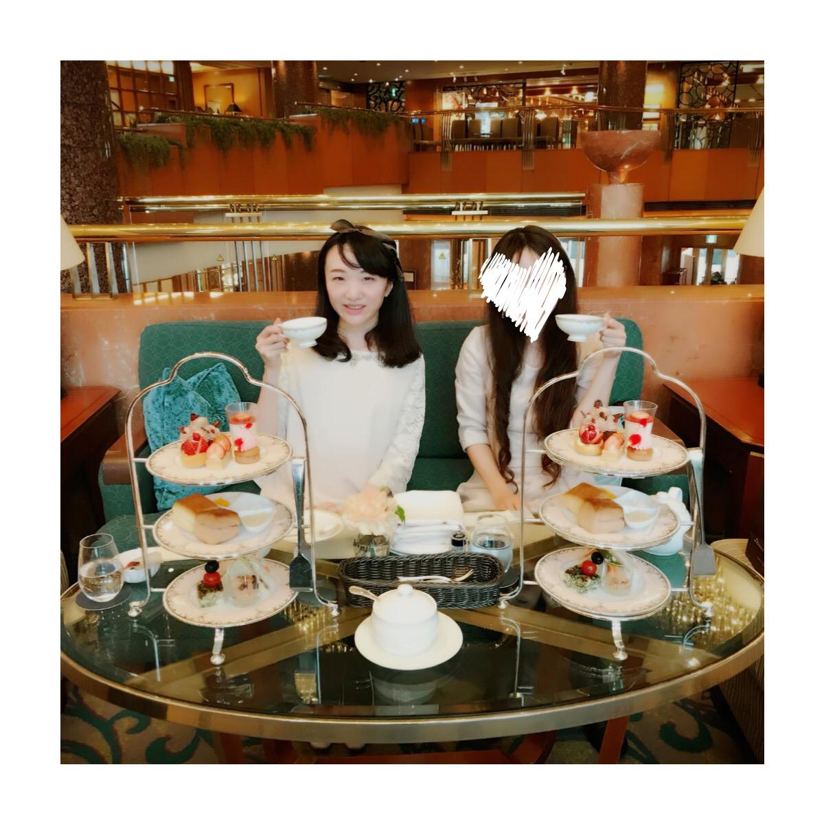 横浜ベイシェラトンのストロベリーアフタヌーンティーのバレンタイン版