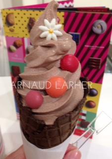 バレンタイン限定!百貨店ショコラ祭典ショコラソフトクリーム♡