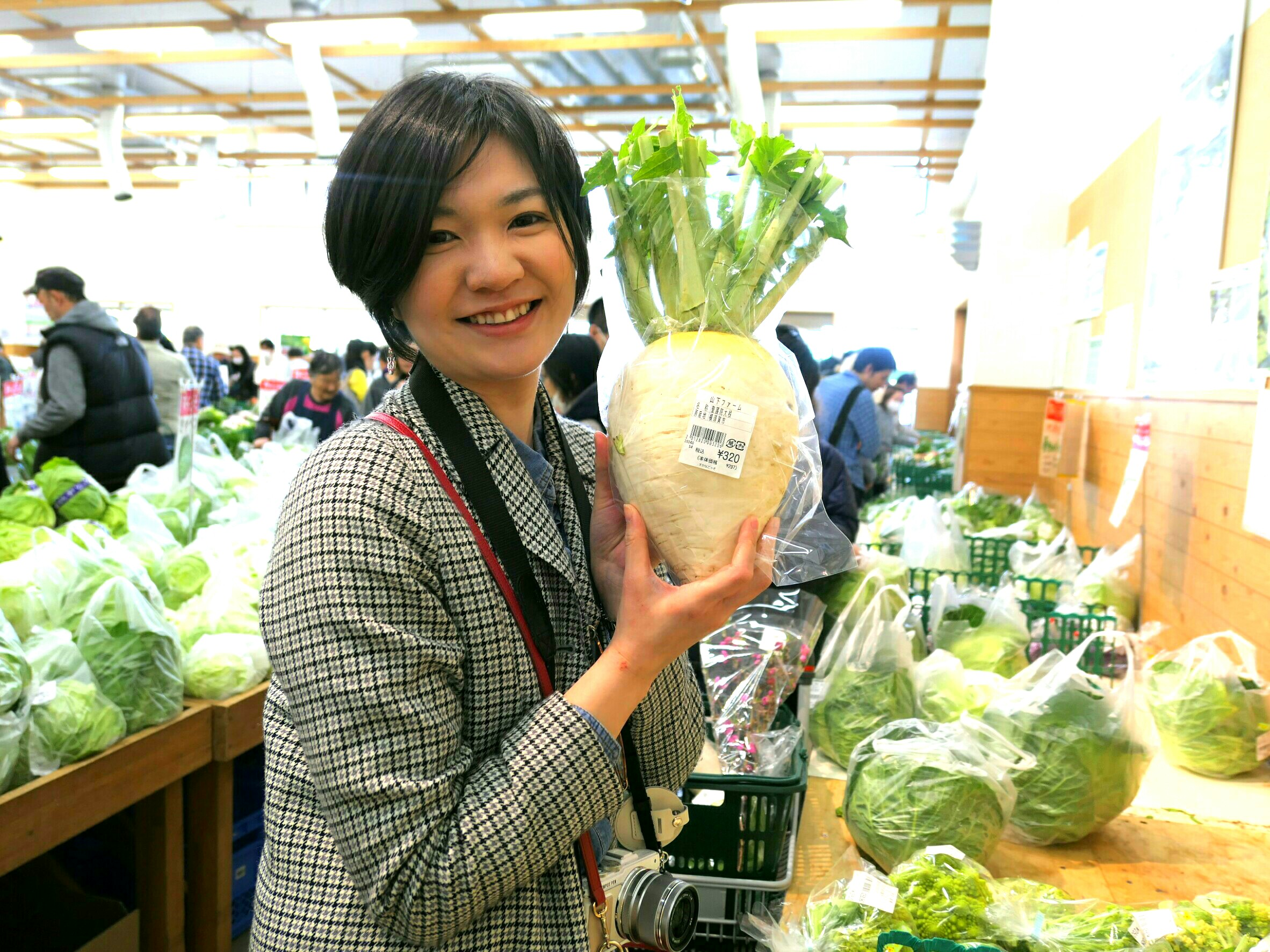 3月11日(日)横須賀体感ツアーレポ③すかなごっそで地元新鮮野菜★