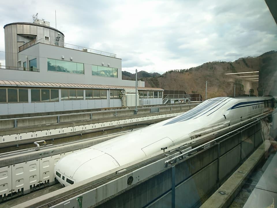 時速500km★リニア新幹線試乗会に参加!