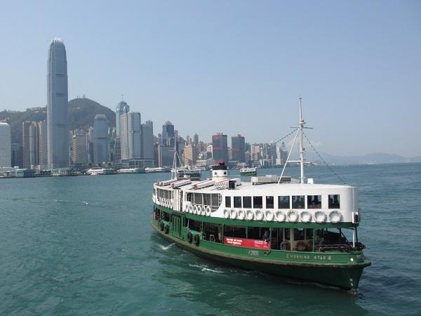 【香港】スター・フェリーで「ザ・香港」な景色を!プチプライスで船旅!!