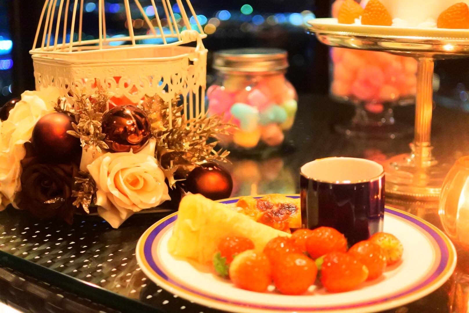 苺を食べ納め!新横浜プリンスホテル・ストロベリースイーツスカイパーティ