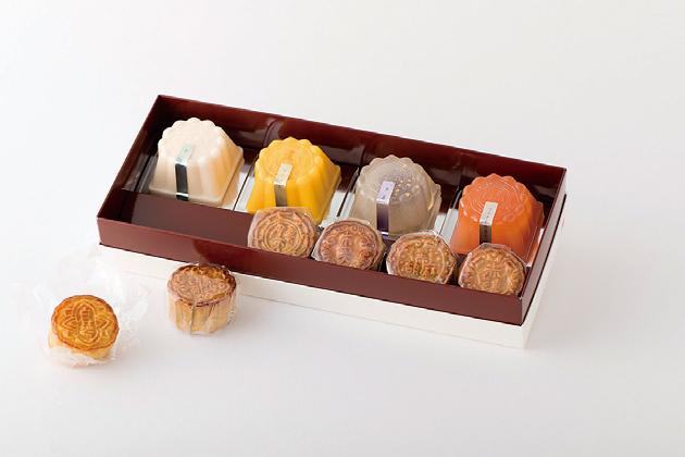 円果天の「月餅・水晶月餅詰め合わせ」