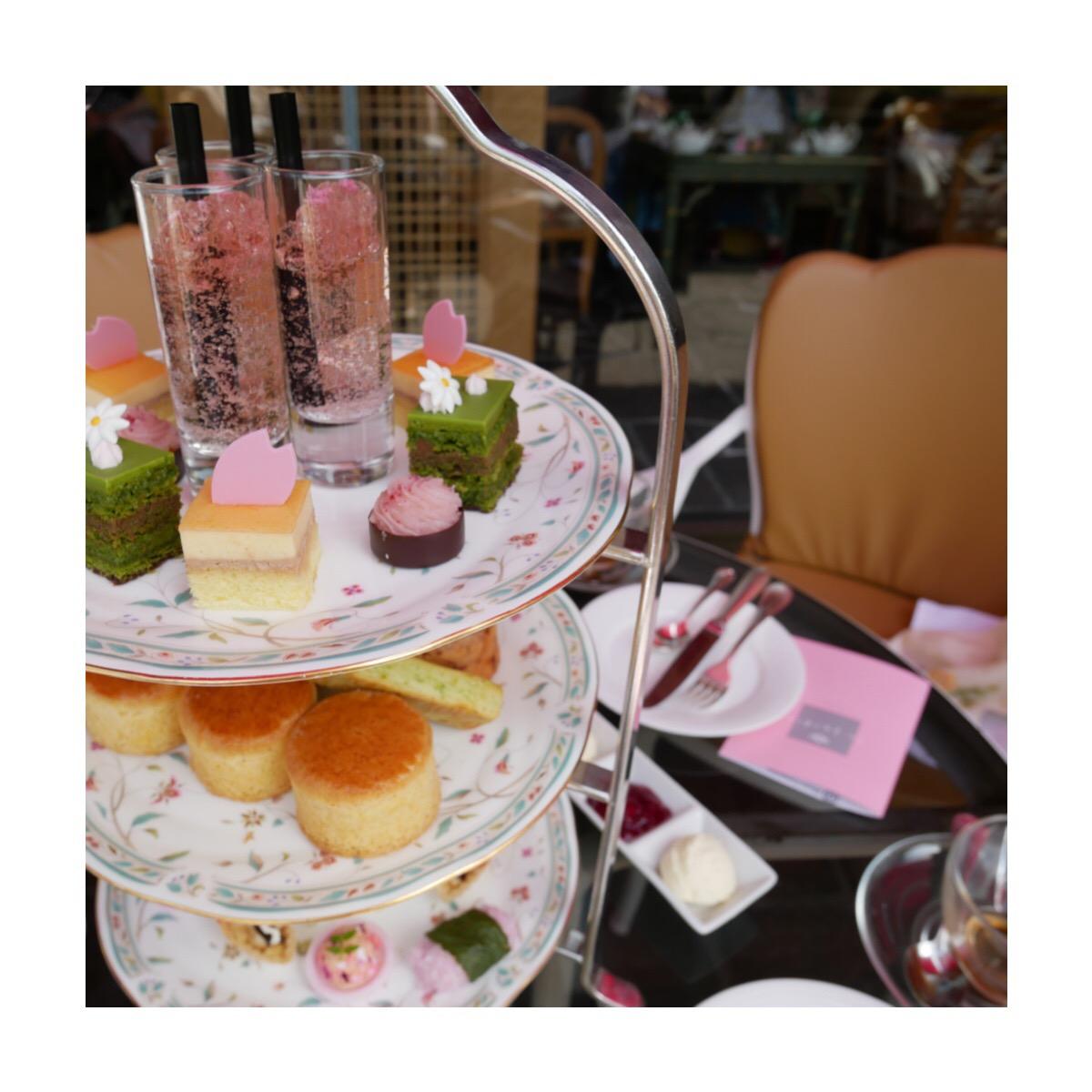 ホテル椿山荘東京の桜アフタヌーンティー❁