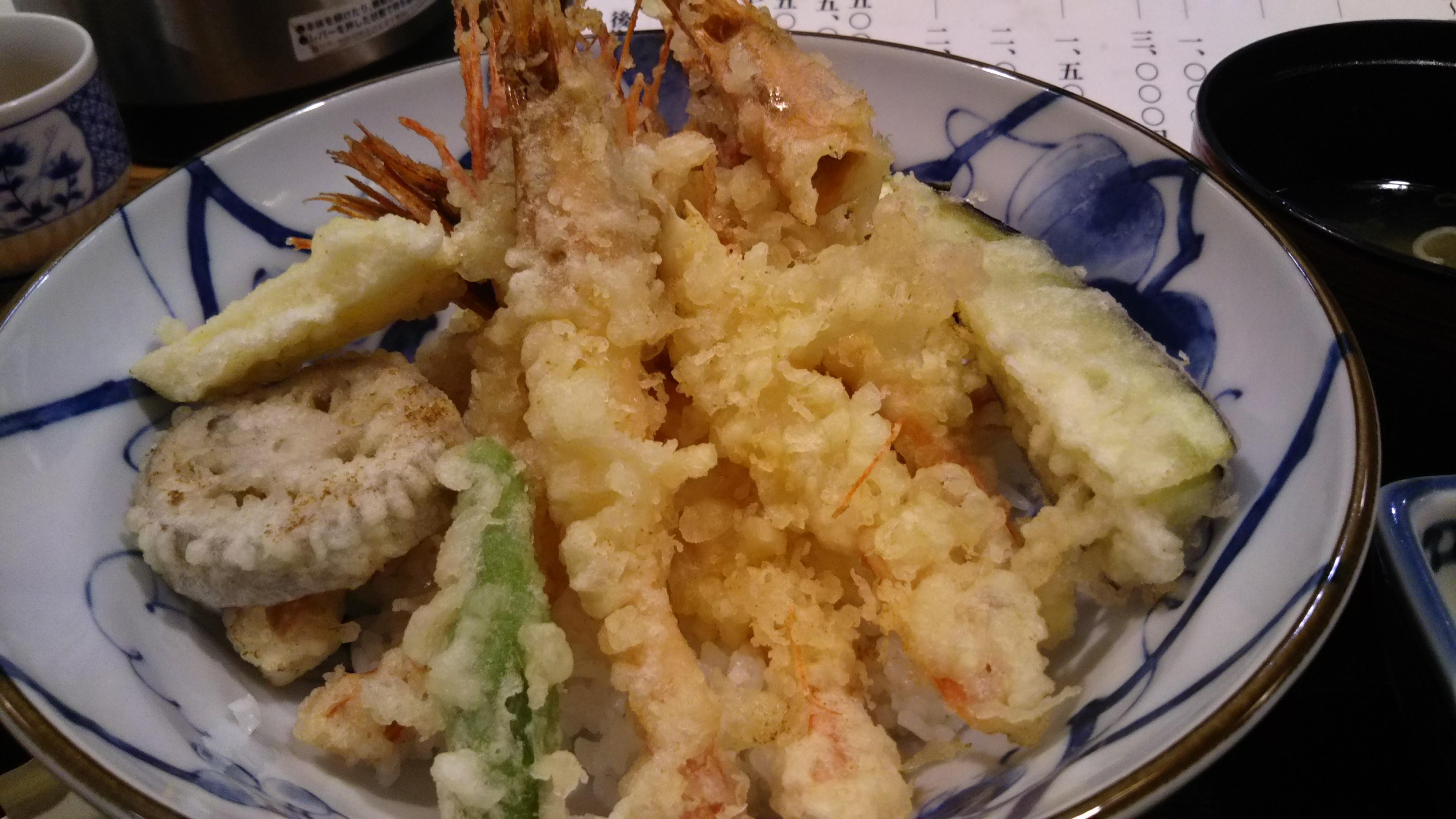 【金沢】素敵なお庭を見た後にはボリューム満点な甘エビ天丼を♪