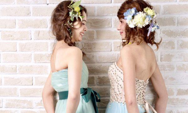 【プレ花嫁必見】ベールにヘッドドレスDIY? カラードレスの最新トレンド