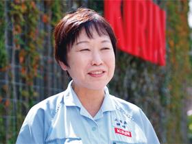 キリンビール横浜工場長 神崎夕紀さん(55歳)