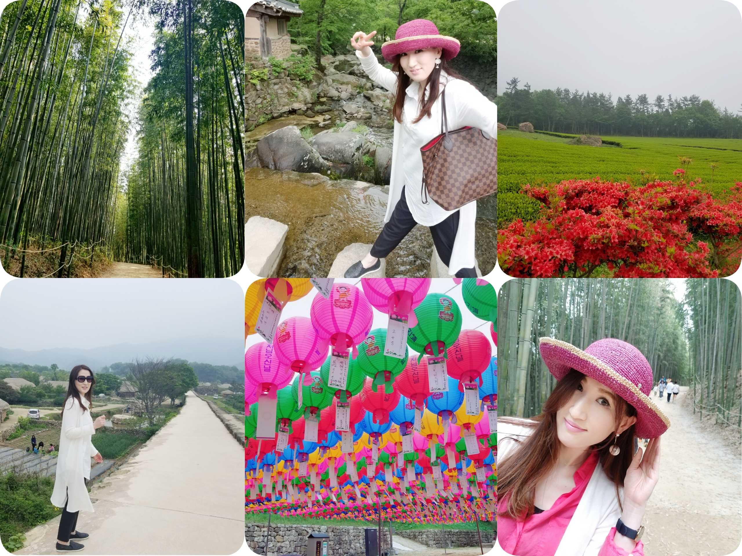 大自然で美肌に❤️ヒーリング旅行❤️韓国・全羅南道