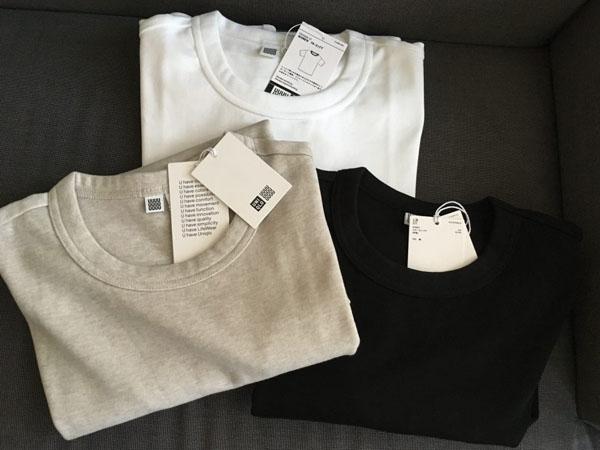 色ち買い決定! ユニクロの優秀クルーネックTシャツ