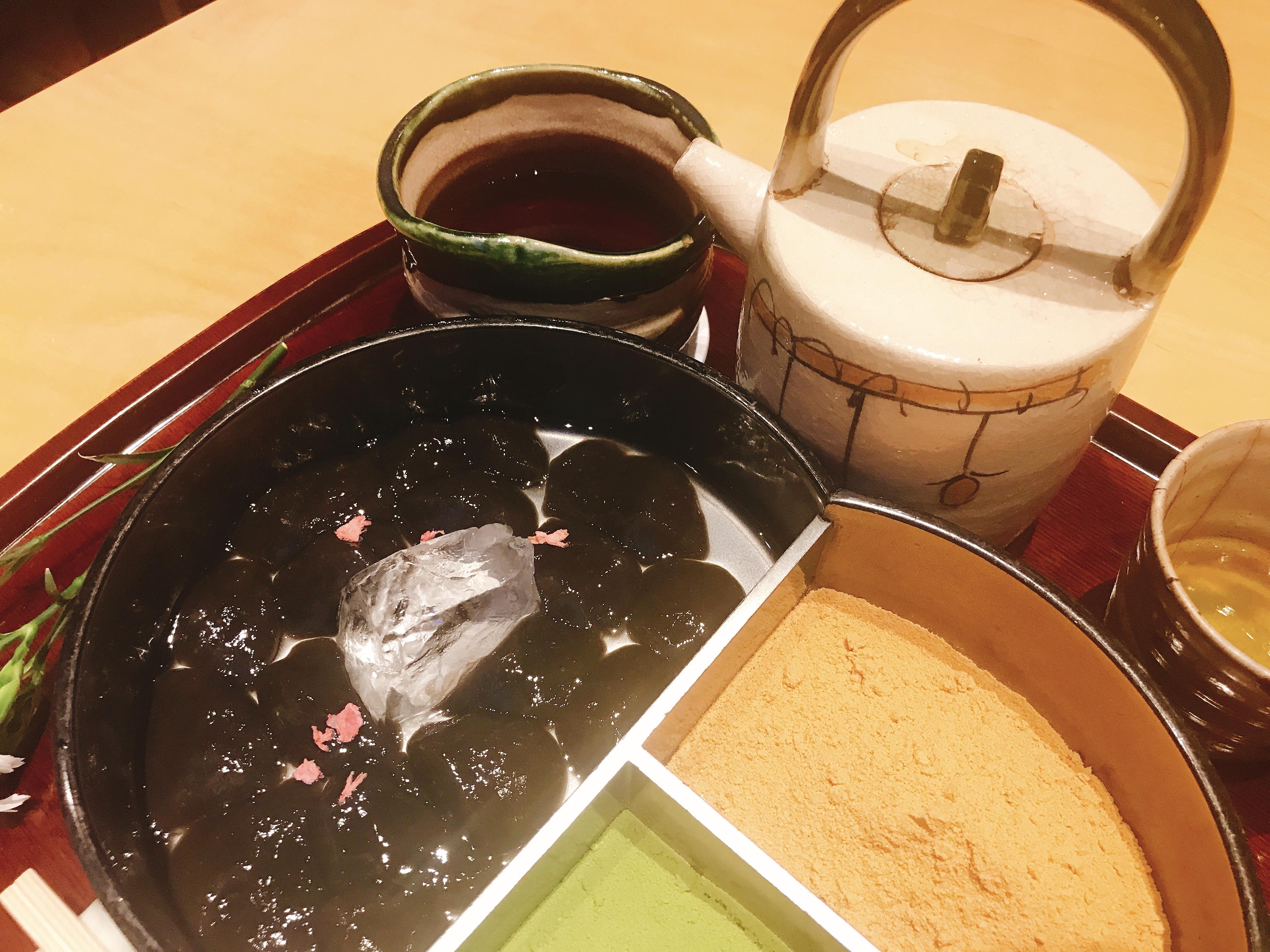 2700円の蕨もち!!東大キャンパス内の廚菓子くろぎへ♪♪
