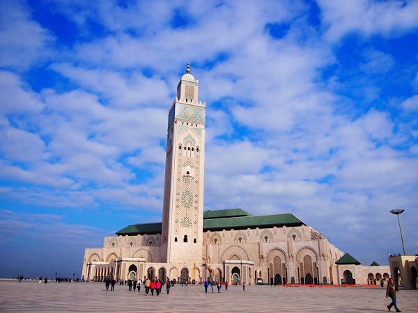 【モロッコ④】映画カサブランカの世界へ!アフリカ最大のモスクも訪問!