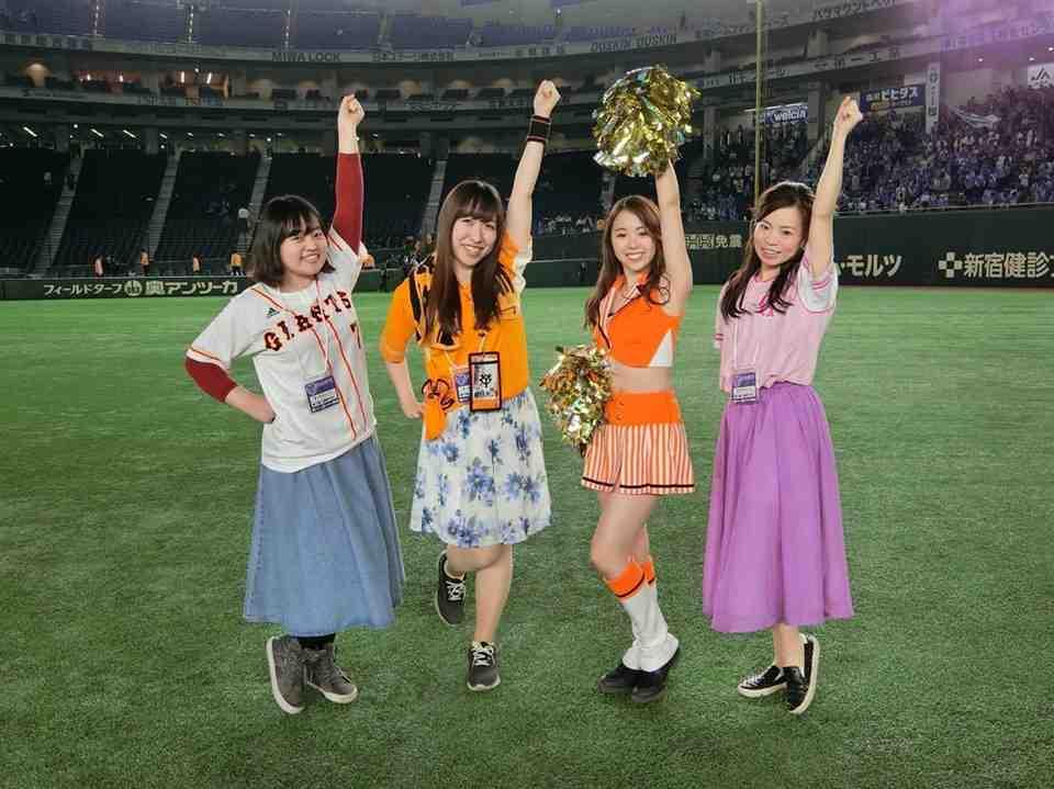 【野球】ガールズジャイアンツシートで観戦してみた!レポート②