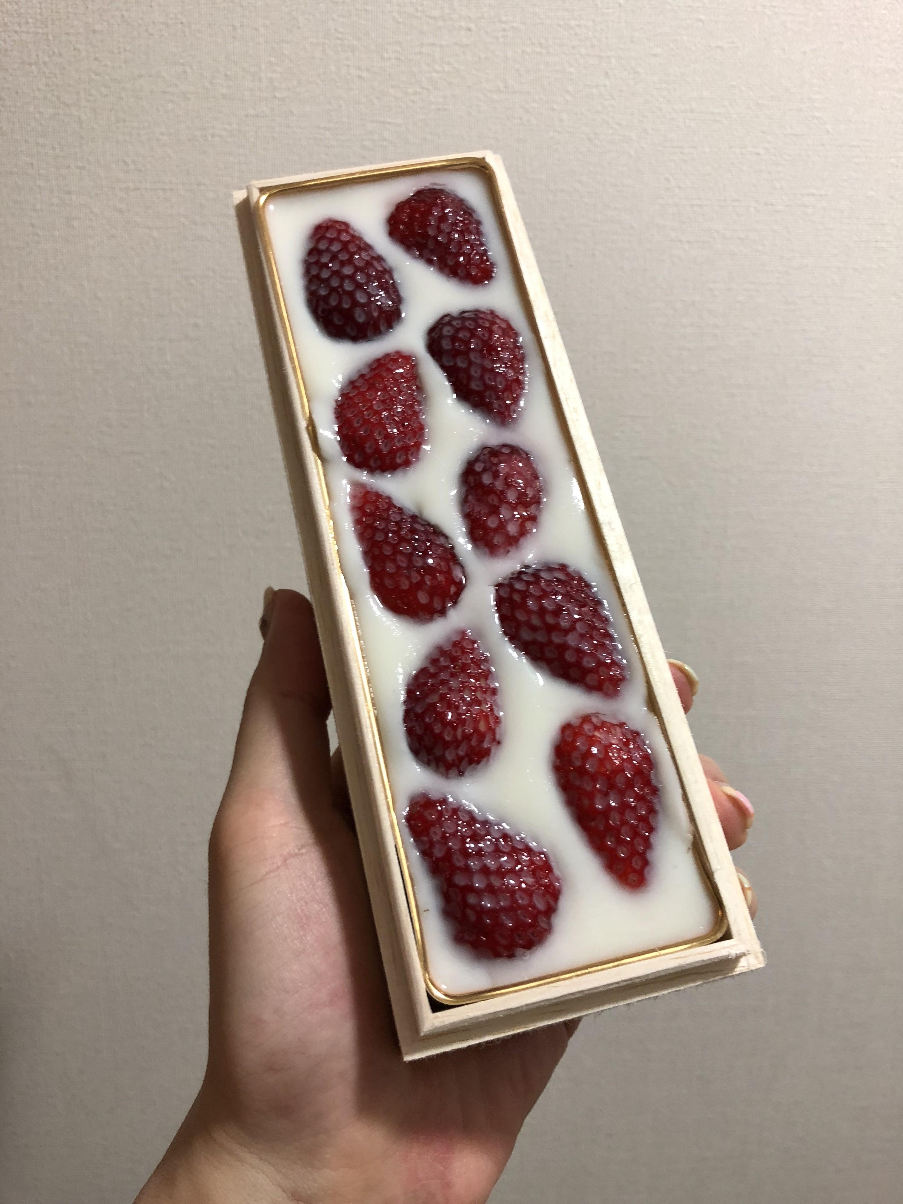 【お取り寄せ】日本料理『雄』の「苺みるく生洋羹」