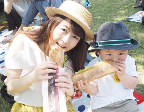 フランス大使公邸でエッグハント♡フレンチピクニック