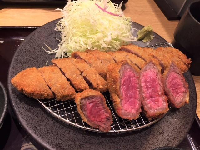 牛カツ専門店「京都勝牛」で牛カツ肉を堪能♪♪