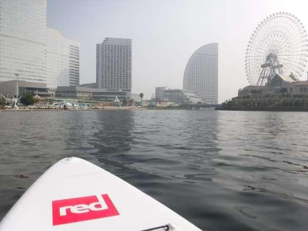 朝SUP in Yokohama!季節・街の移り変わりを水上から