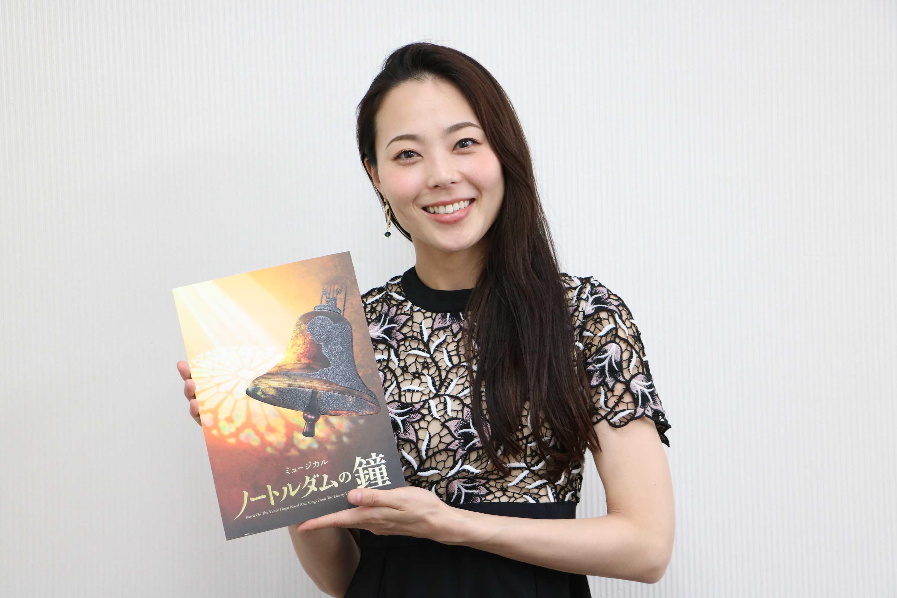 『ノートルダムの鐘』エスメラルダ役・岡村美南さんにインタビュー!