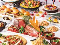 おいしい世界一周の旅をするビュッフェ さまざまな国の名物料理を楽しんで