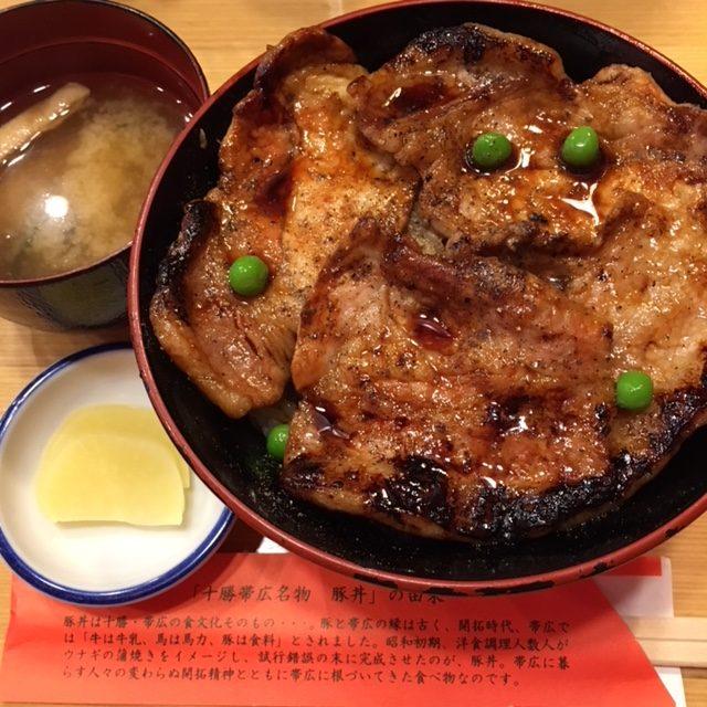 【肉食女子】帯広といえば、、豚丼!その2~元祖 豚丼のぱんちょう~