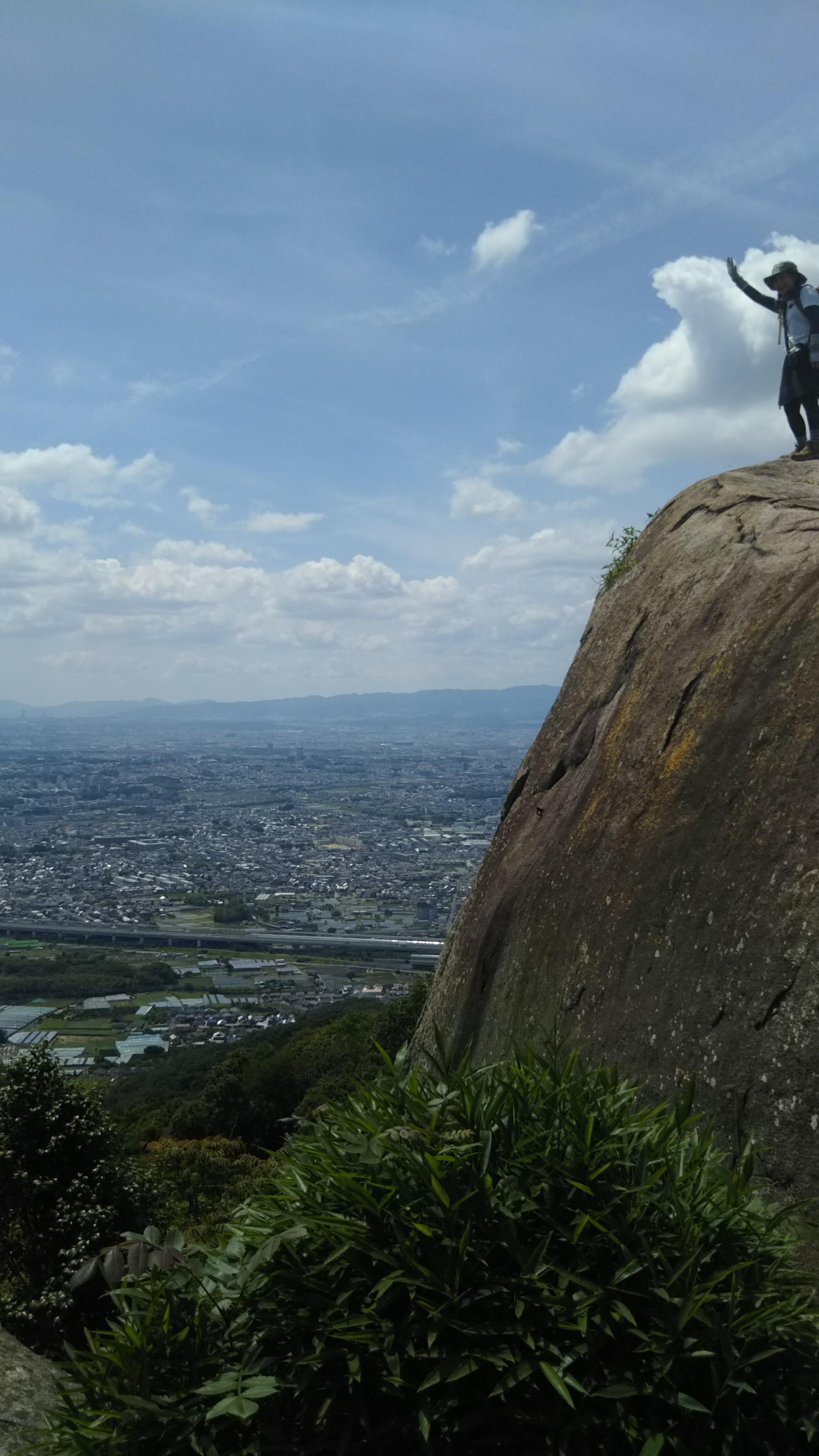 たまにはハイキングして絶景見ながらリフレッシュ☆‐交野山‐