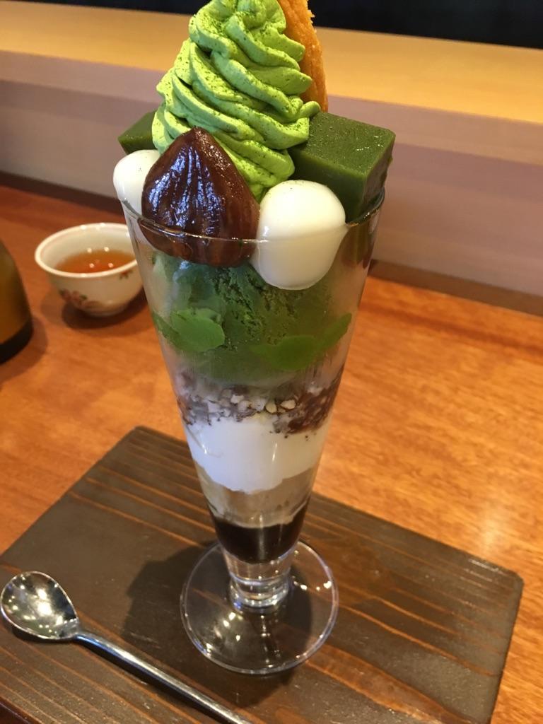 行列覚悟の人気店♪清水一芳園でランチと噂の抹茶スイーツ!