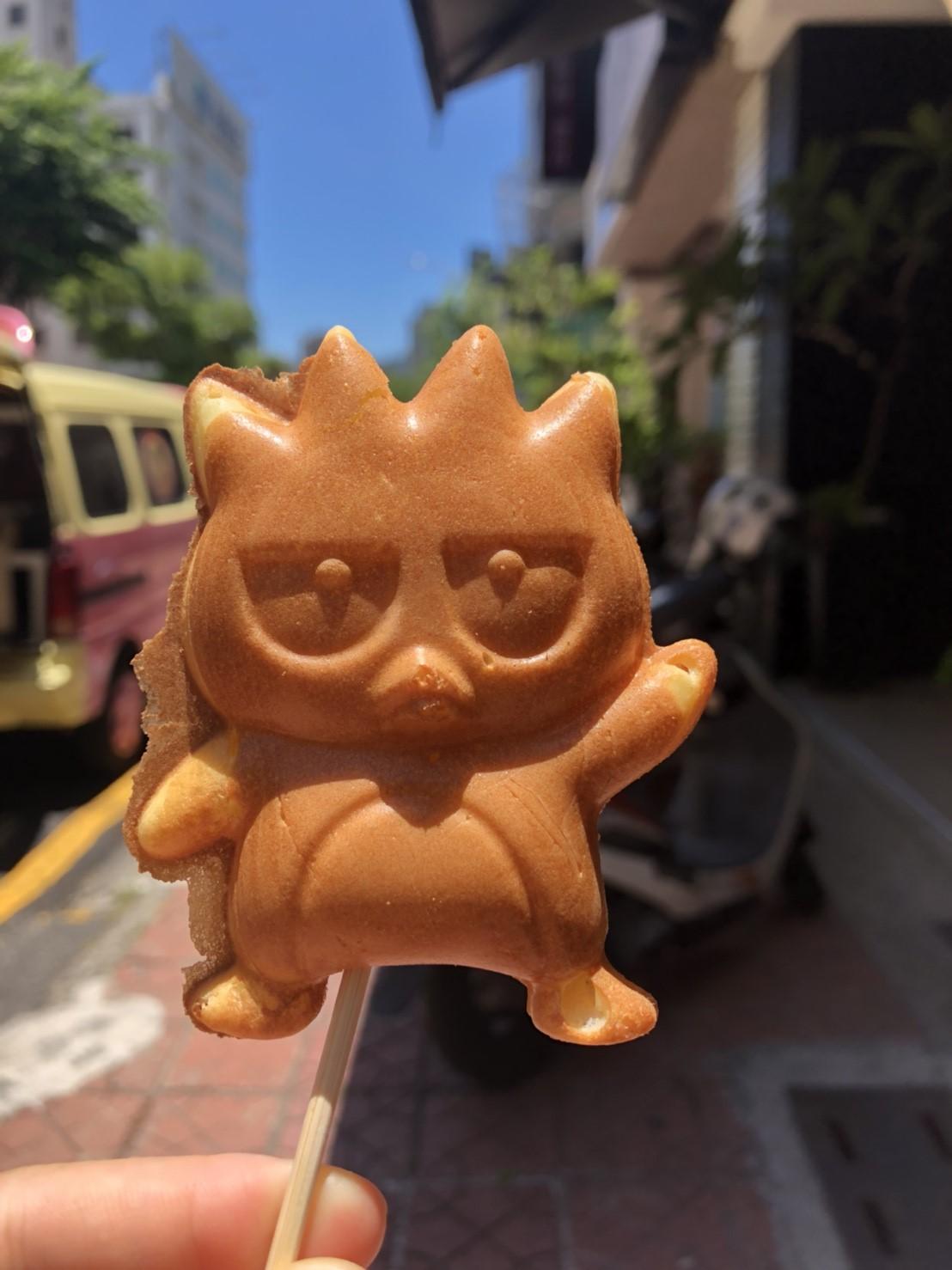 【台湾】1個30円。懐かしのあのキャラクターも見つかる『脆皮雞蛋糕』