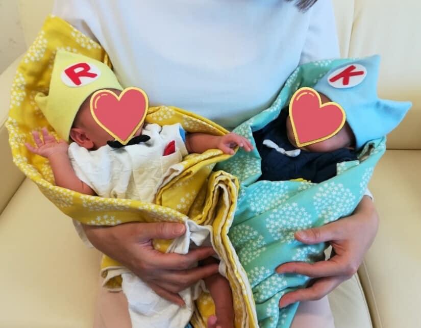 やっとご報告♡双子出産しました♡
