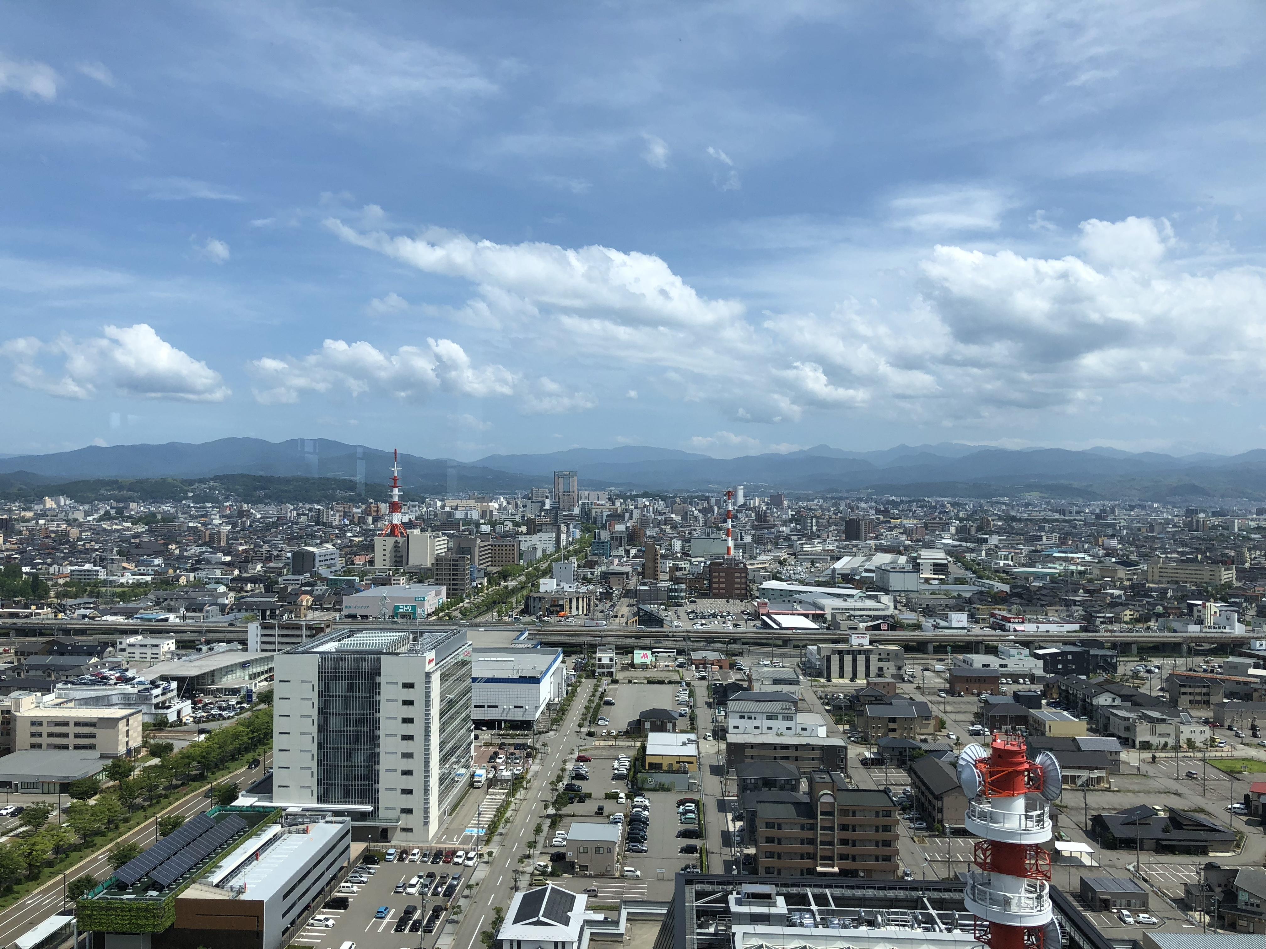 金沢観光にオススメ♥金沢を見渡すことができる県庁へ